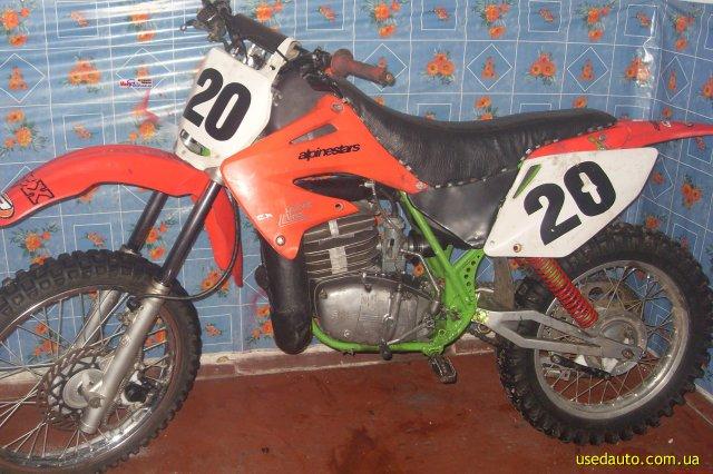 Чезет кроссовй мотоцикл фото 1