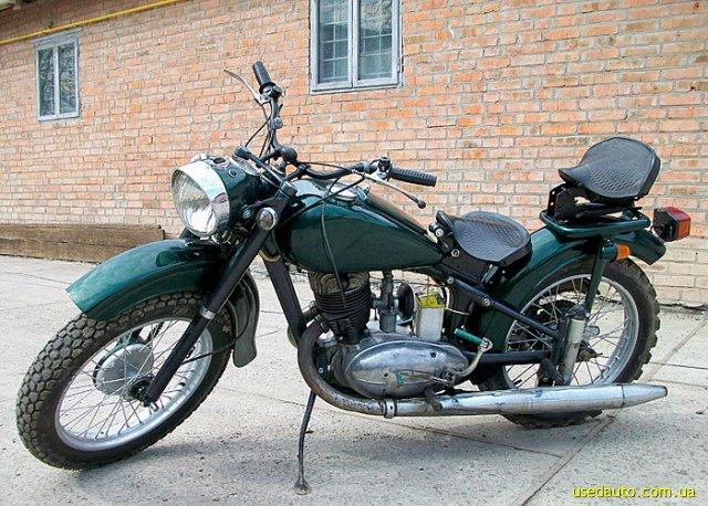Иж 49 дорожный мотоцикл фото 1
