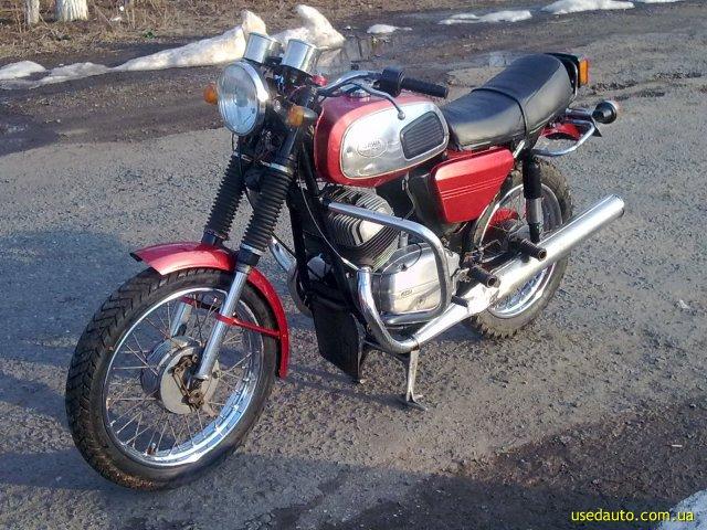 Ява 350 дорожный мотоцикл фото 1