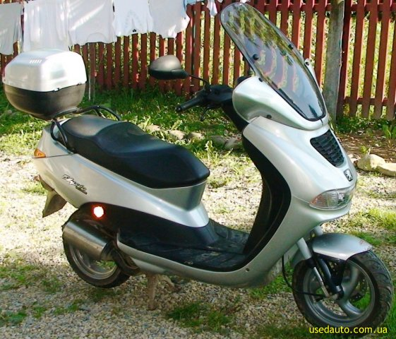 скутер peugeot - eliseo
