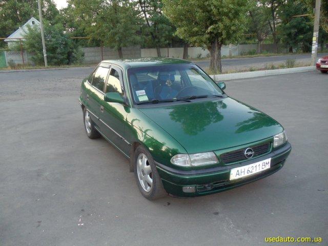 Опель астра 1997 седан