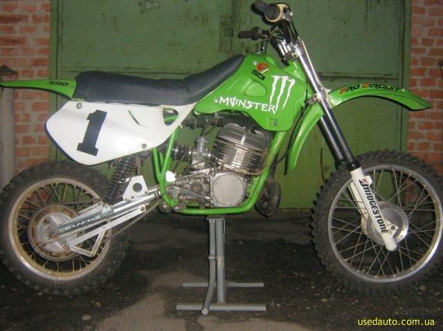 Продажа cz 500 кроссовй мотоцикл фото 1