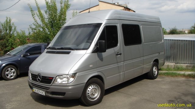 2004 mercedes benz sprinter 211 cdi. Black Bedroom Furniture Sets. Home Design Ideas
