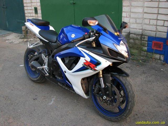 Продажа suzuki gsx r 600 спортбайк фото 1