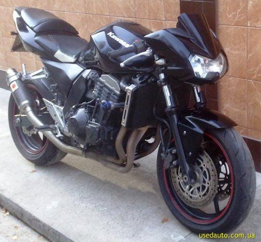 Kawasaki z750 дорожный мотоцикл фото 1