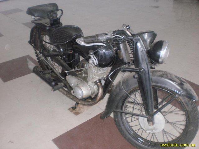 Dkw 350 дорожный мотоцикл фото 1