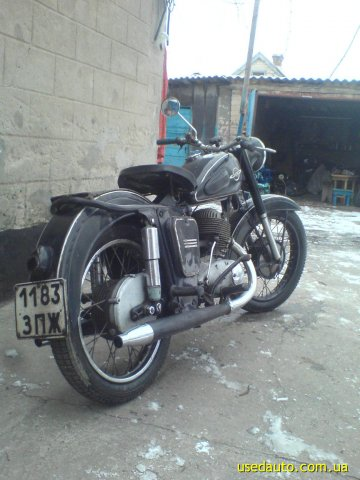 Иж 56 дорожный мотоцикл фото 1