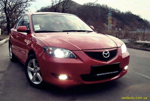 Продажа седанов Mazda 3 в Украине.