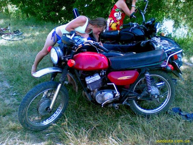 Минск 113 дорожный мотоцикл фото 1