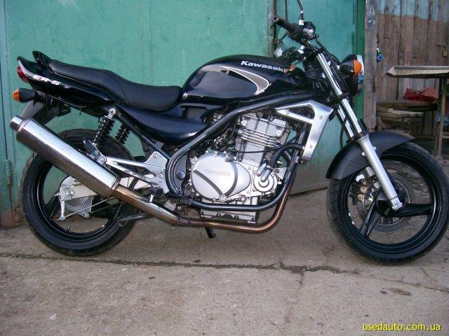продажа 2006 Kawasaki Er 5 в черновцах дорожный мотоцикл купить