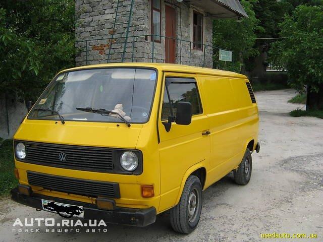 Продажа 1986 VOLKSWAGEN т2 (ФОЛЬКСВАГЕН) в Ивано-Франковске ...