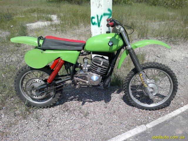 кроссовый мотоцикл чезет 250 #8
