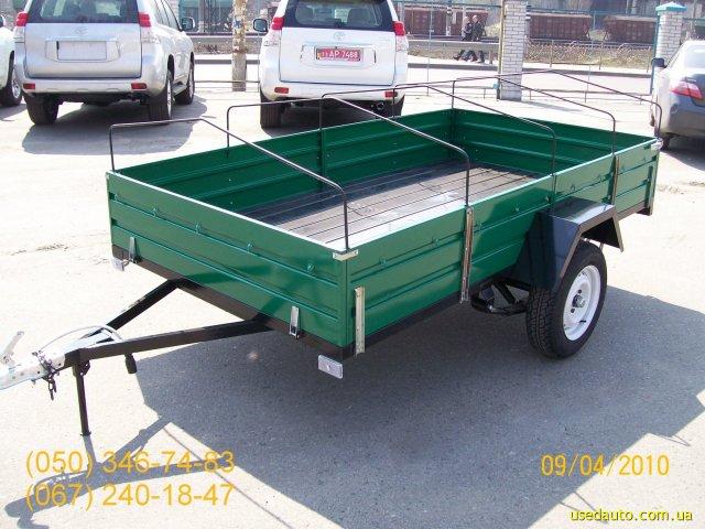 Продажа ПГМФ-8304 Удлиненный , Бортовой прицеп, фото #1
