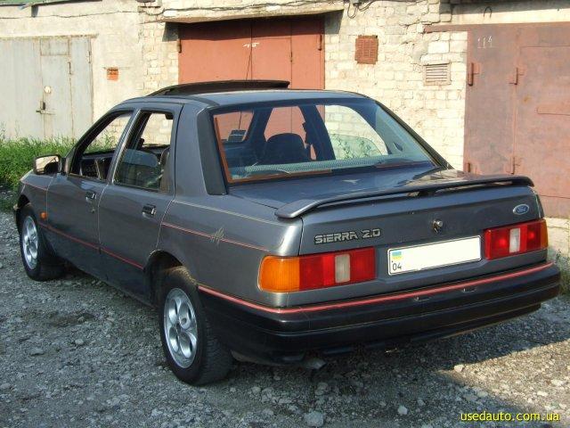 Продажа 1989 FORD Sierra (ФОРД Сиерра) в Днепропетровске - Седан. Купить Седан FORD Sierra (ФОРД Сиерра)