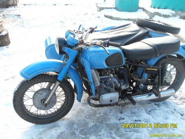 Днепр 11 дорожный мотоцикл фото 1
