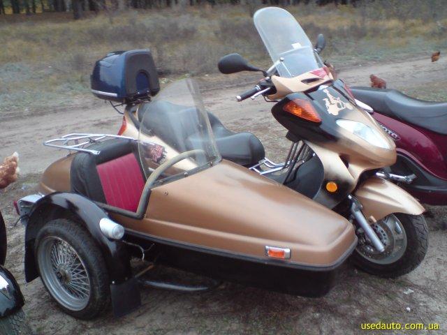 Скутер с коляской