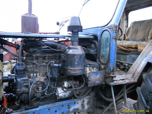 Трактор ЮМЗ-6 запуск двигатель Д-65 видео