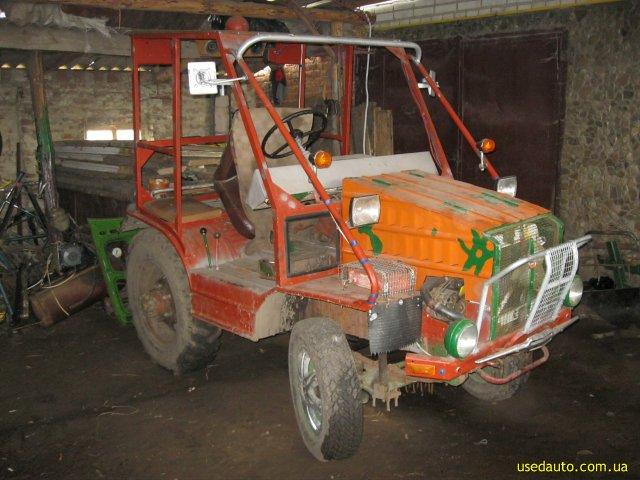 Авито авто трактор самодельный 173