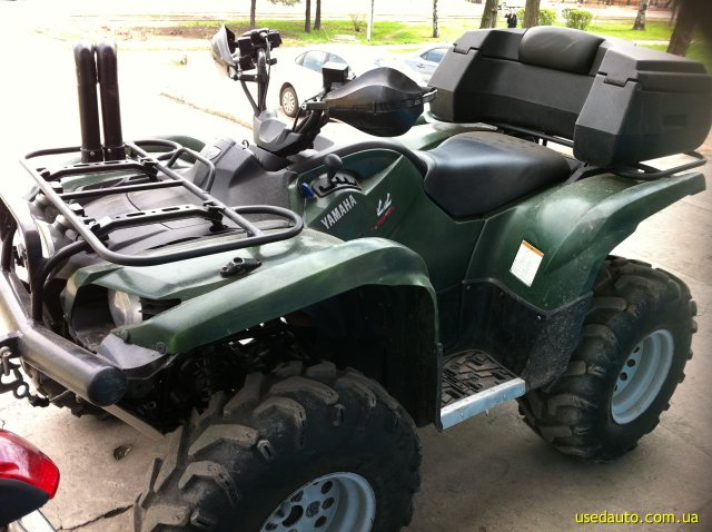 Продажа yamaha grizzly 700 квадроцикл фото 1