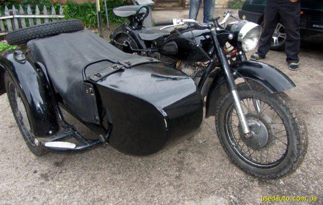 Днепр к 750 дорожный мотоцикл фото 1