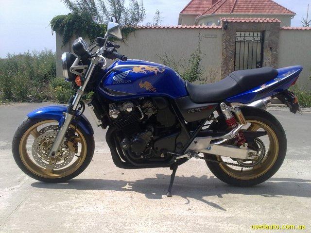 Обзор мотоцикла, honda, cB 400