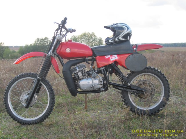 кроссовый мотоцикл чезет 250 #6