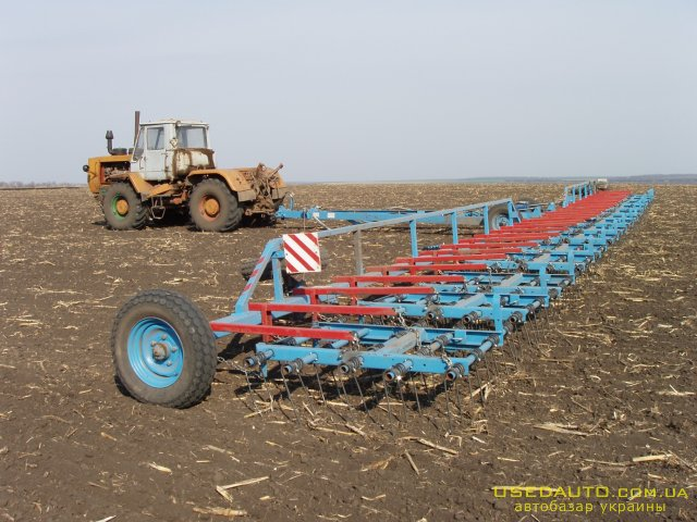 Продажа Борона пружинная- ЗПГ-15,ЗПГ-24.  , Сельскохозяйственный трактор, фото #1