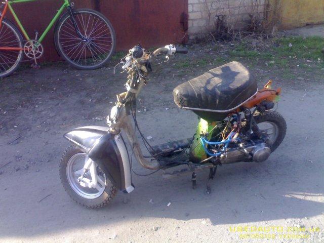 пластик на скутер honda giorno