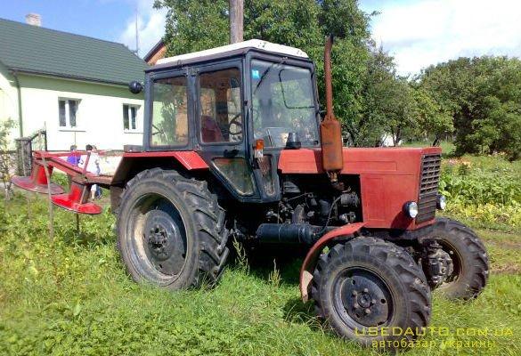 куплю: трактор Беларусь МТЗ МТЗ, 2002 г.в., подержанный