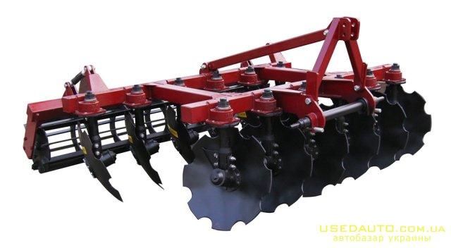 Продажа Плуг дисковый ПД-2,2  , Сельскохозяйственный трактор, фото #1