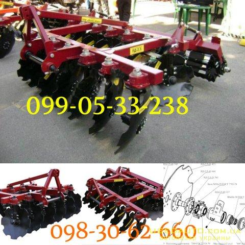 Продажа ПЛУГ ДИСКОВЫЙ ПД- 3,3  , Сельскохозяйственный трактор, фото #1