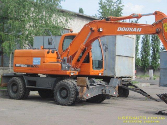 Продажа DOOSAN 160  колёсный , Эксковатор, фото #1