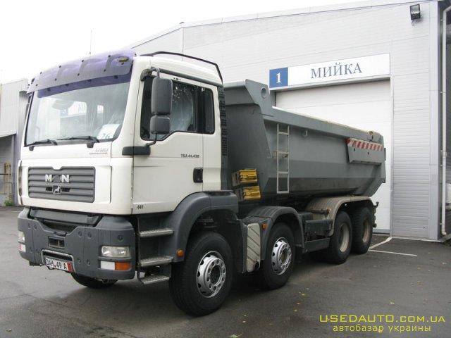 Продажа MAN TGA 41.430 , Самосвальный грузовик, фото #1