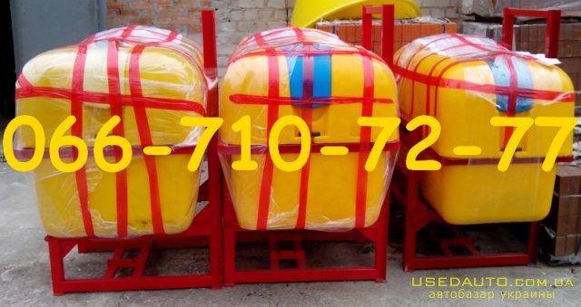 Продажа Опрыскиватель 800 л, штанга 14м. с карданом 6x8 , Сельскохозяйственный трактор, фото #1