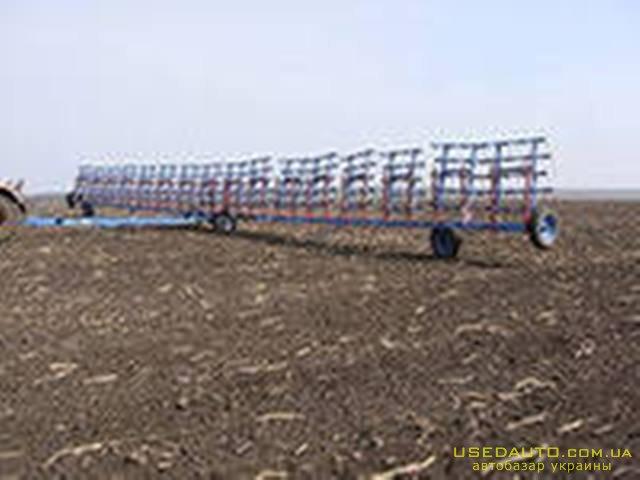 Продажа Борона пружинная ЗПГ-24  , Сельскохозяйственный трактор, фото #1