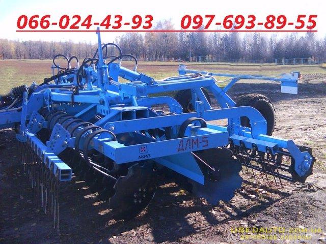 Продажа Дисковая борона ДЛМ – 5.0  , Сельскохозяйственный трактор, фото #1