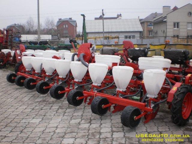 Продажа СЕЯЛКА ВЕСТА-8  , Сельскохозяйственный трактор, фото #1