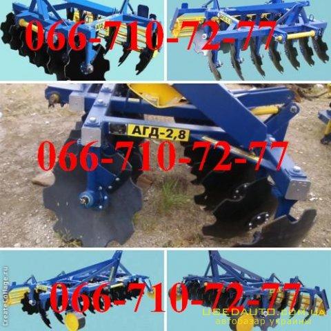 Продажа Дисковые бороны АГД  , Сельскохозяйственный трактор, фото #1