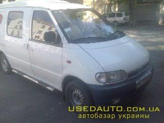Продажа NISSAN vanetta (НИССАН), Грузопассажирский микроавтобус, фото #1