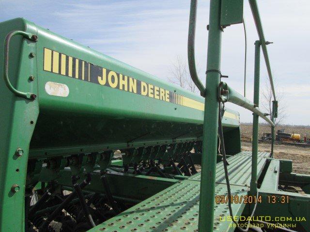 Продажа JOHN DEERE 750 4,5 м с м/сем , Сеялка сельскохозяйственная, фото #1