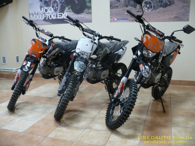 Продажа VIPER PIT -BIKE 125 , Кроссовй мотоцикл, фото #1