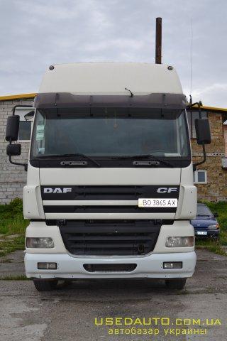 Продажа DAF СF 85.430 (ДАФ), Седельный тягач, фото #1