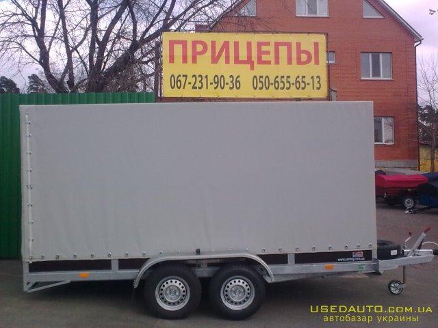 Продажа Сантей 2500-01 , Бортовой прицеп, фото #1