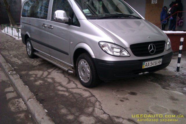 Продажа MERCEDES-BENZ vito , Пассажирский микроавтобус, фото #1