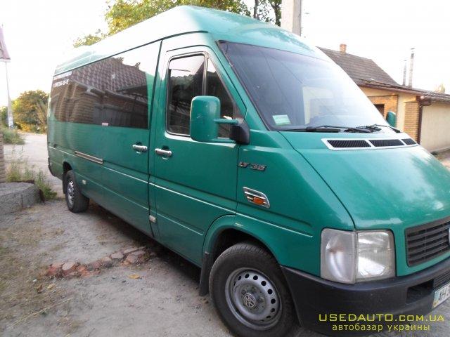 Продажа VOLKSWAGEN LT-35 (ФОЛЬКСВАГЕН), Пассажирский микроавтобус, фото #1