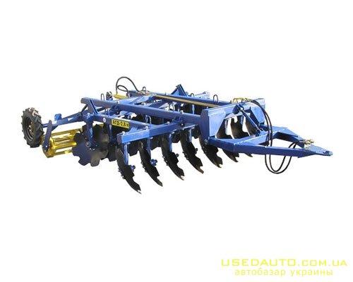 Продажа АГРОРЕММАШ БОРОНА АГД-2.8Н  , Сельскохозяйственный трактор, фото #1