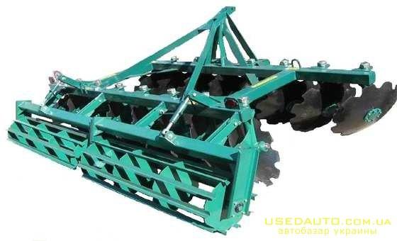 Продажа Борона дисковая АГ-3,0-20  , Сельскохозяйственный трактор, фото #1