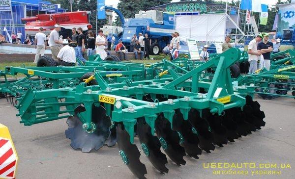 Продажа Борона дисковая АГ-3,3-20  , Сельскохозяйственный трактор, фото #1