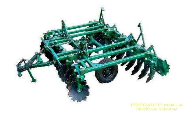 Продажа Борона дисковая УДА-3,8-20  , Сельскохозяйственный трактор, фото #1