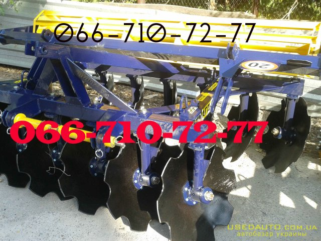 Продажа Дисковая борона АГД 2.1, АГД 2.5  , Сельскохозяйственный трактор, фото #1